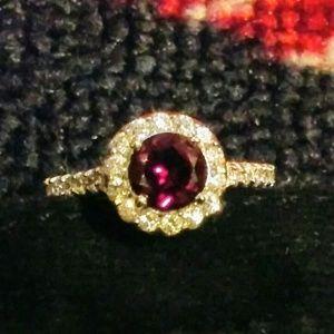 Holsted Garnet Ring